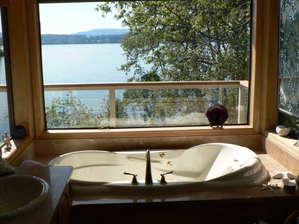 Chalet Rd~Bathtub With View Over Deep Cove (2013)