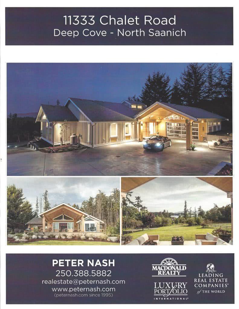 Brochure 11333 Chalet Rd. Deep Cove