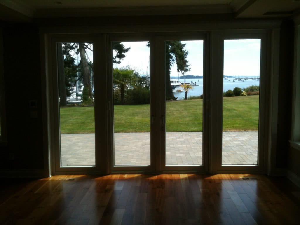 Living Room Windows @ McMicken Rd, North Saanich