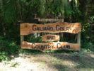 Galiano Island Golf & Country Club Entrance