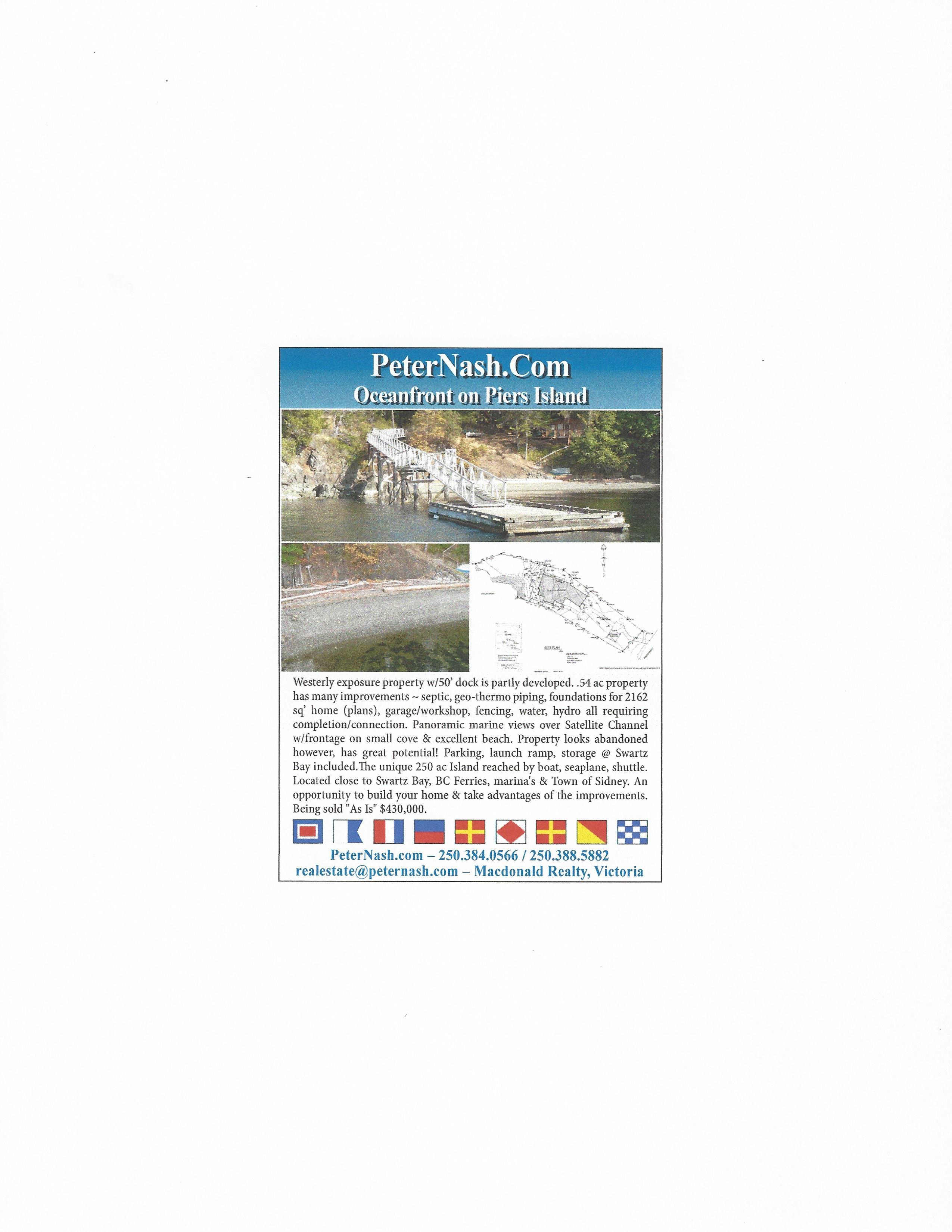 94 McKenzie Crescent, Piers Island - Piers Island Waterfront