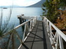 Ramp From Property To Dock @ 94 McKenzie Cres, Piers Island-Looking West