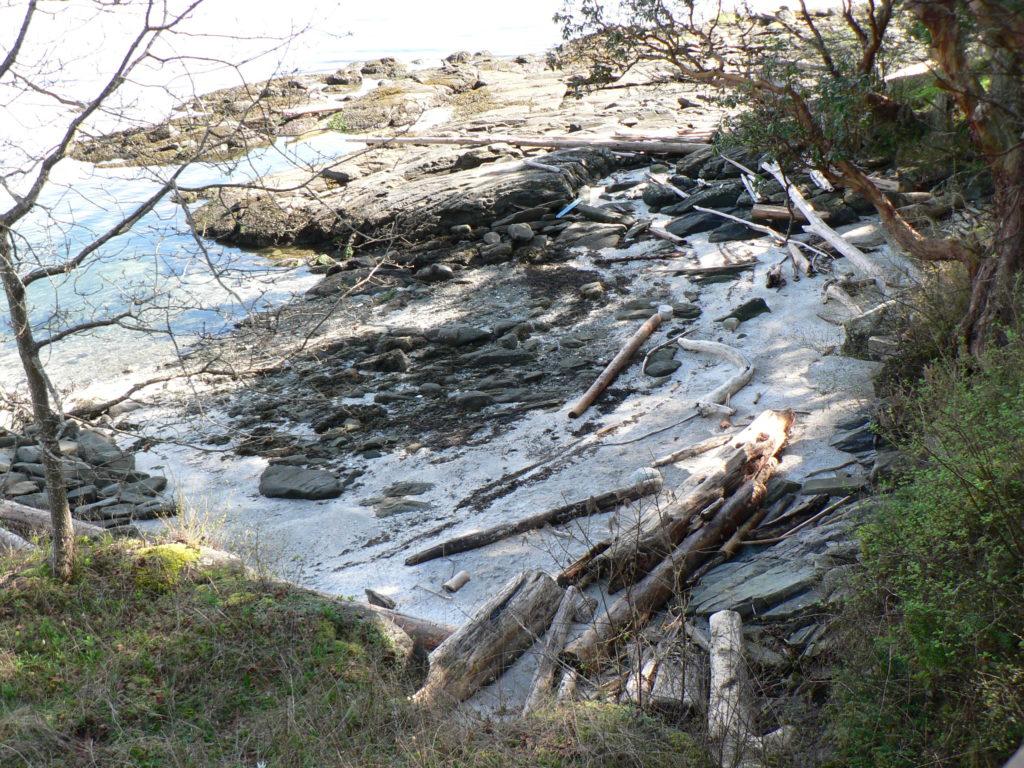 Sandy Beach @ Reid Island, Trincomali Channel