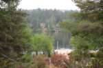 View From Hunter Island To West Shawnigan Lake Rd Boathouse & Garage