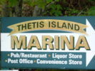 Thetis Island Marina, Thelegraph Harbour, Thetis Island