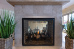 Gas Fireplace (2 sides)