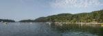Pano View Montague Harbour, Galiano Island