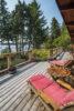 Relaxing Deck @ 232 Southwind Rd, Montague Harbourt