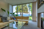 Living Rm w/Ocean Views~Cordova Bay