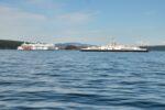 BC Ferries in Shute Passage. peternash.com