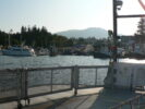 Ferry Arriving in Evening at Chemainus
