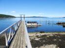 Shuttle @ Little Shell Island Dock